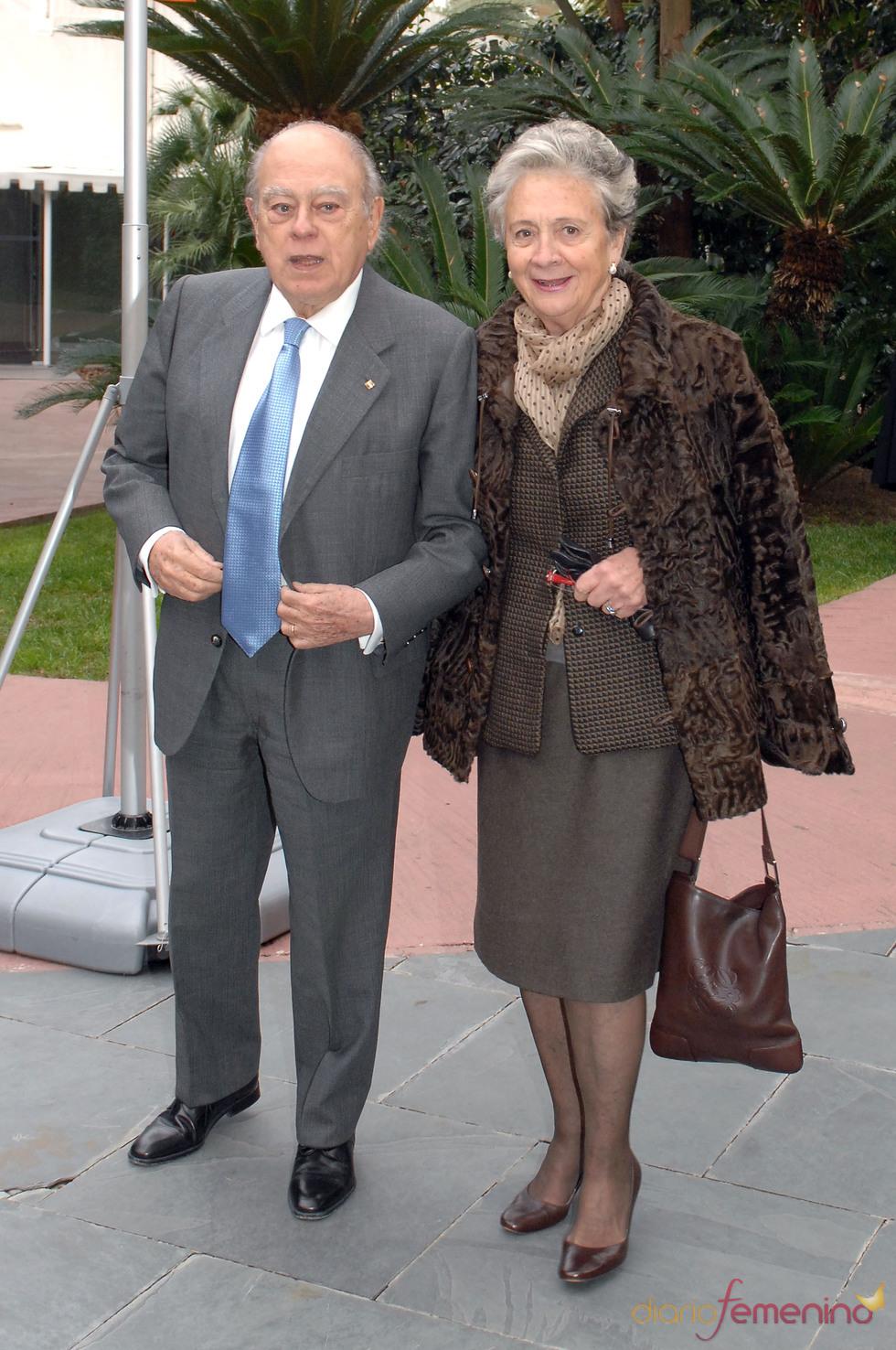 Jordi Pujol y Marta Ferrusola en los Premios Protagonistas 2010