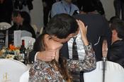 Christian Gálvez y Almudena Cid se besan en los Premios Protagonistas 2010