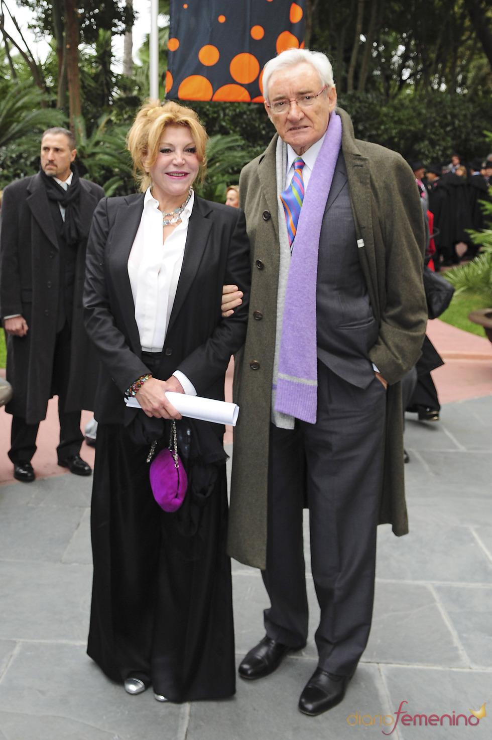 Luis del Olmo y Tita Cervera en los Premios Protagonistas 2010