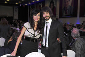 David Janer y Meritxel Barrionuevo en los Premios Protagonistas 2010