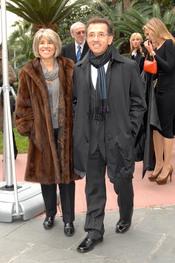 Jordi Hurtado y su mujer en los Premios Protagonistas 2010