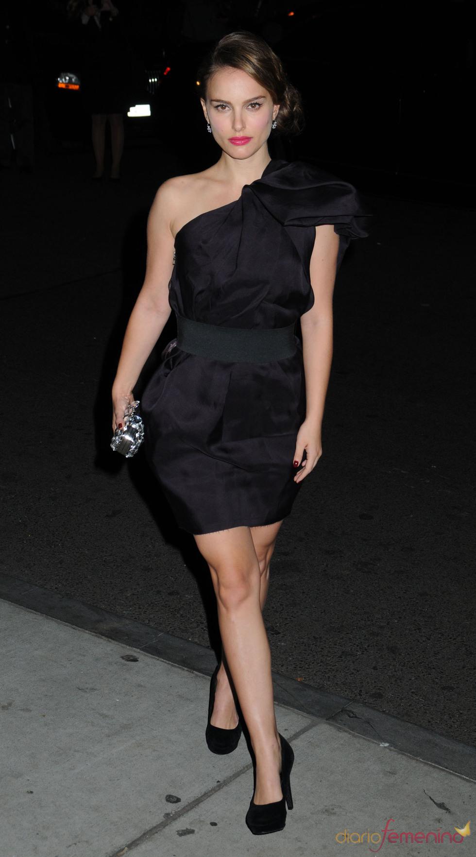 Natalie Portman en la entrega de premios Gotham