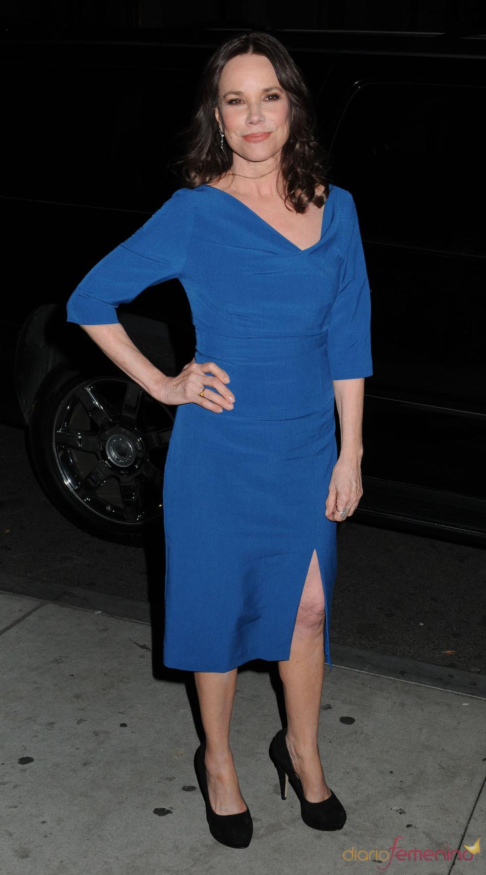 Barbara Hershey en la vigésima edición de los premios Gotham