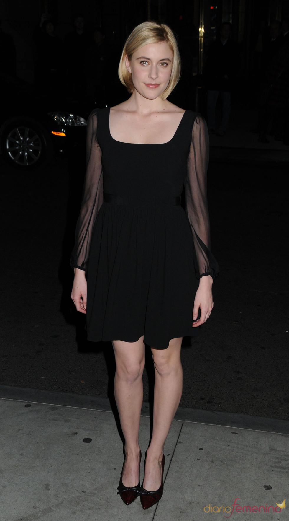 Greta Gerwig acudió a la ceremonia de los premios Gotham en Nueva York