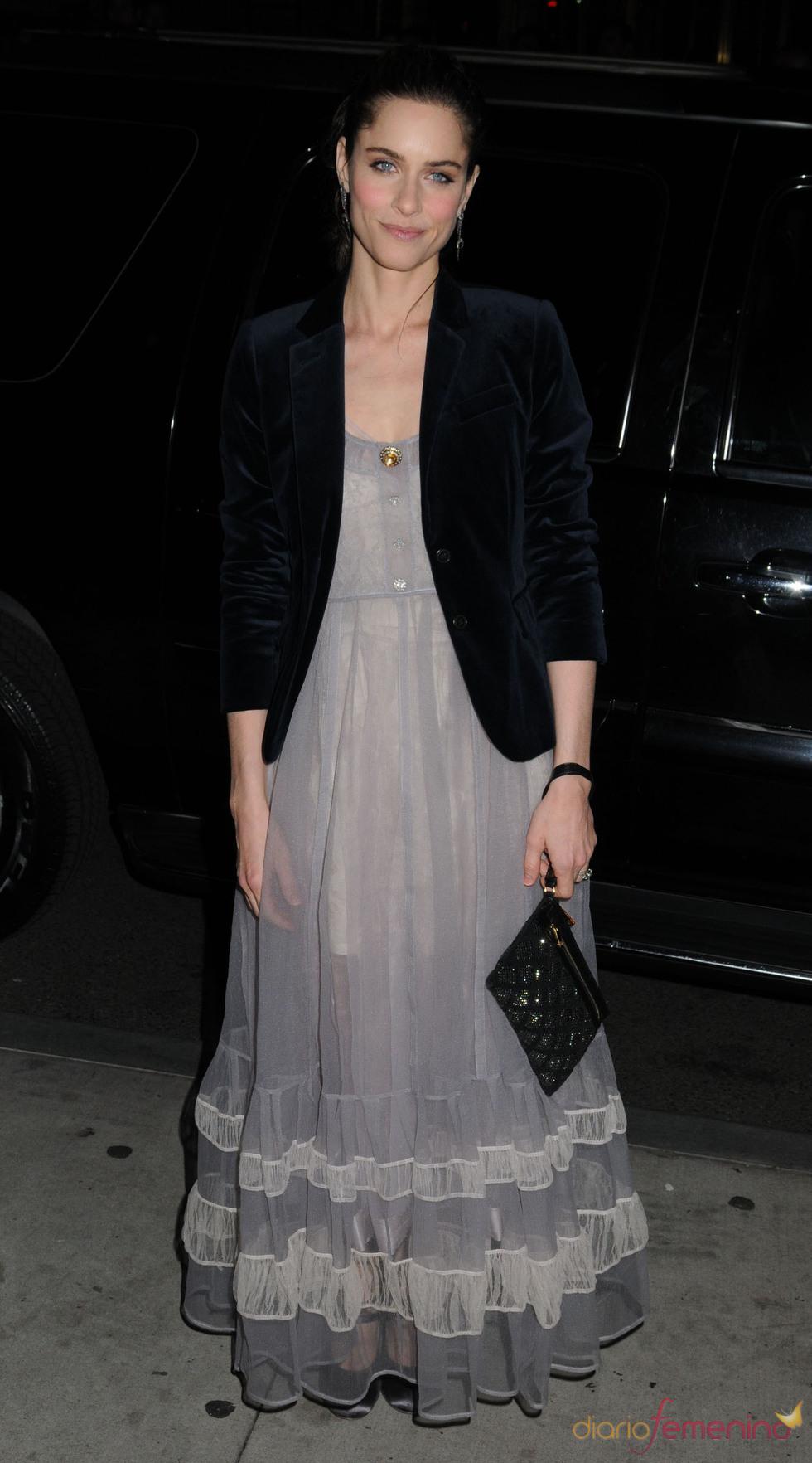 Amanda Peet en los premios Gotham de Nueva York