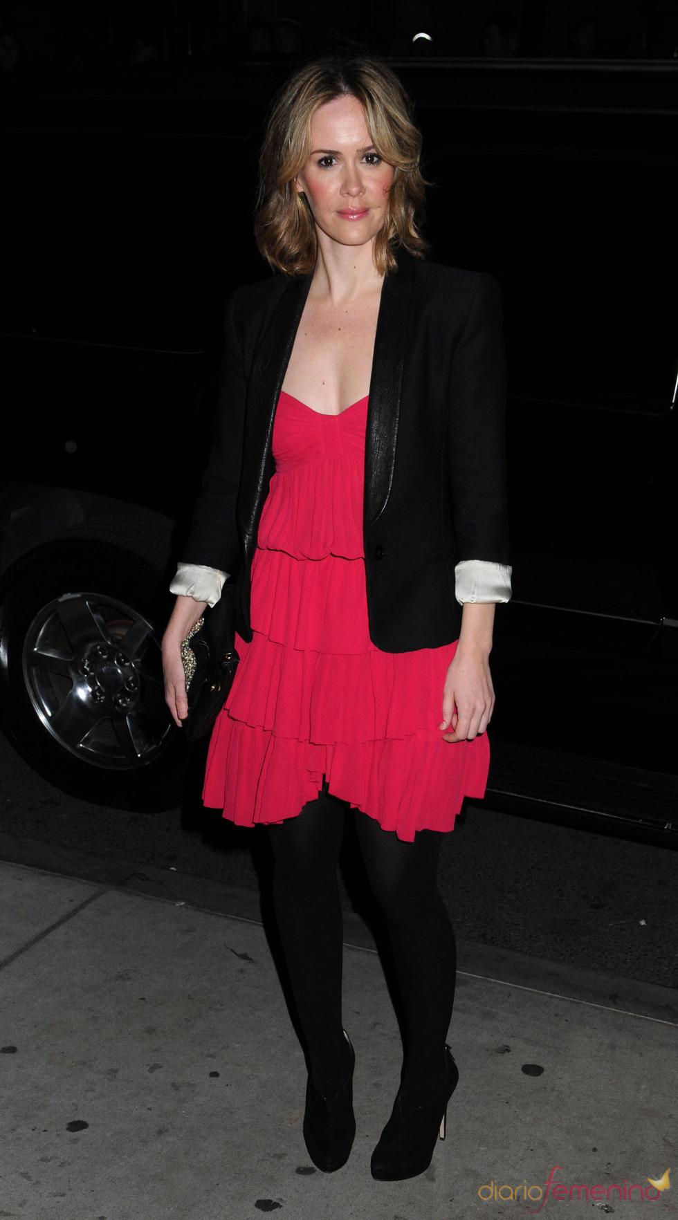 Sarah Paulson fue a los premios Gotham