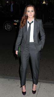Leighton Meester en los premios Gotham