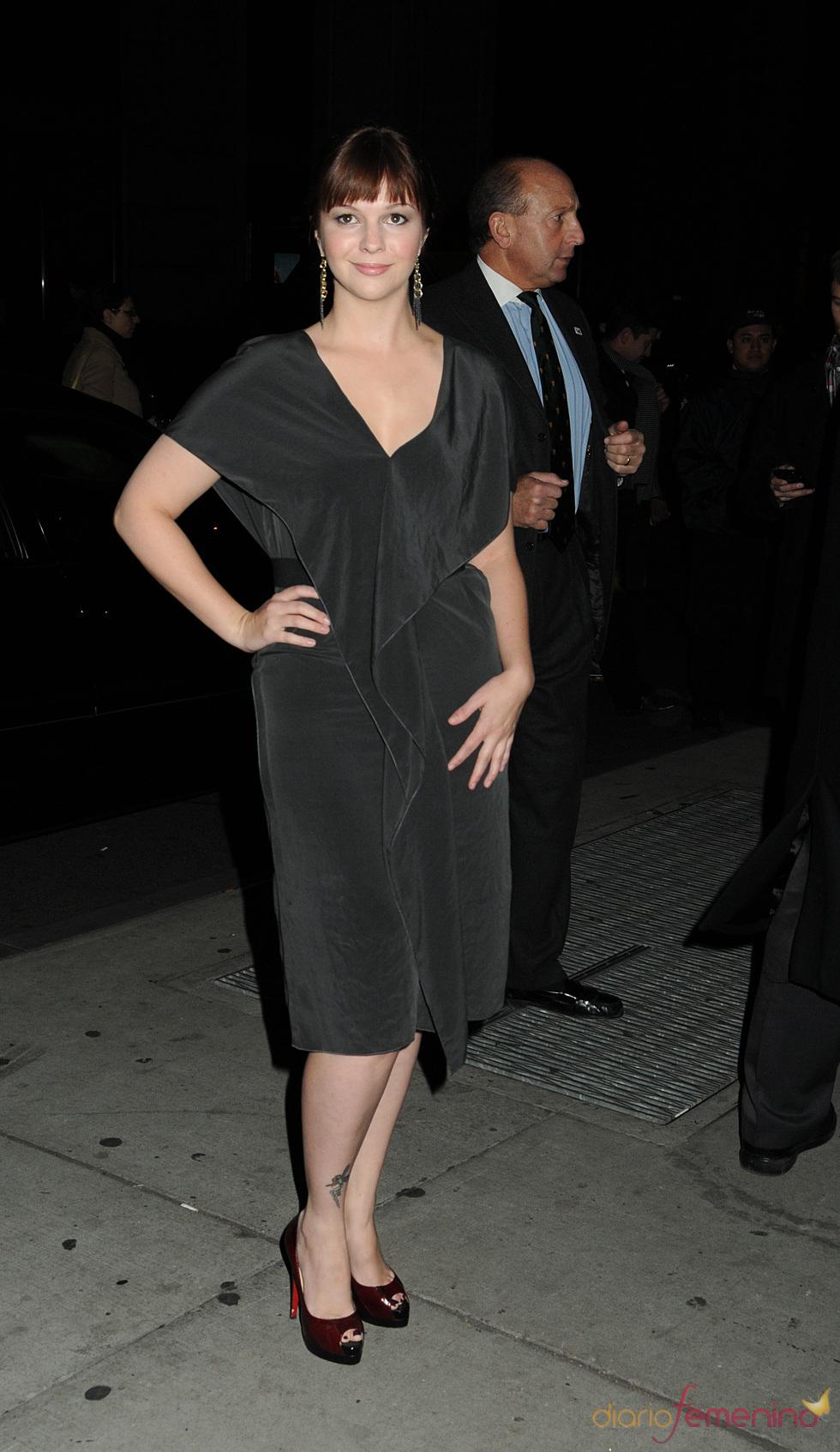 Amber Tamblyn en la entrega de los premios Gotham