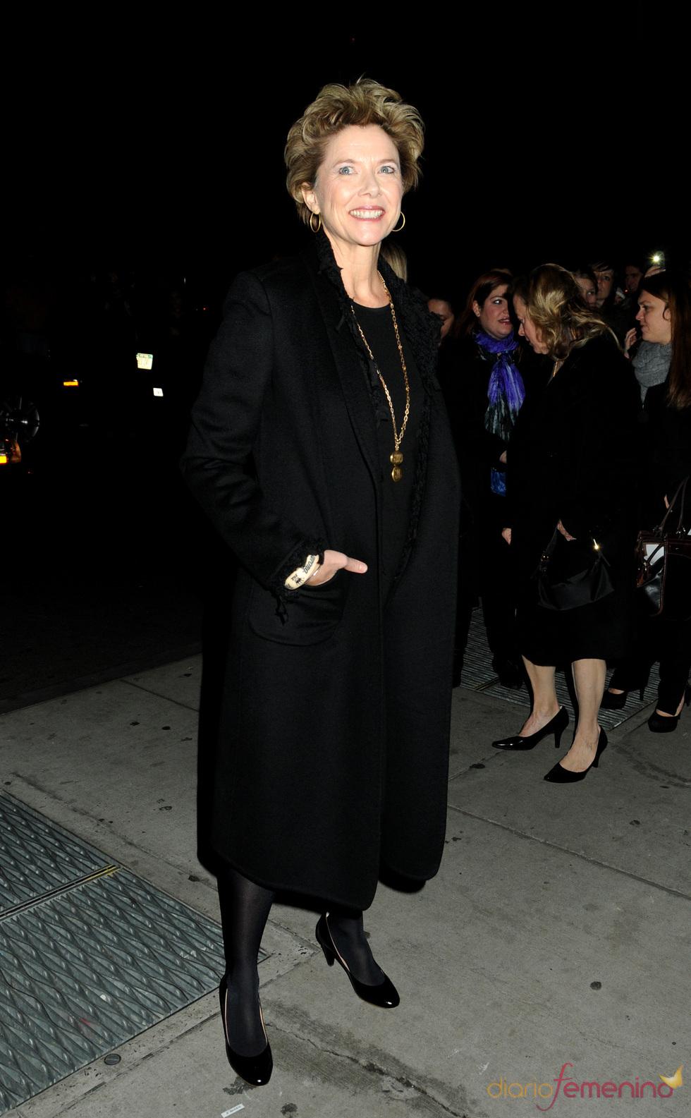 Annette Bening fue a la gala de los premios Gotham