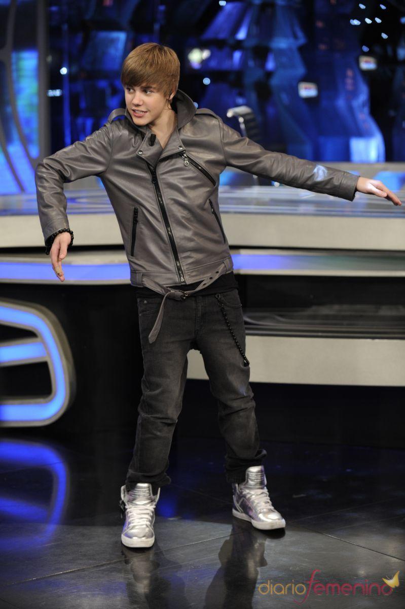 Justin Bieber baila en 'El Hormiguero'