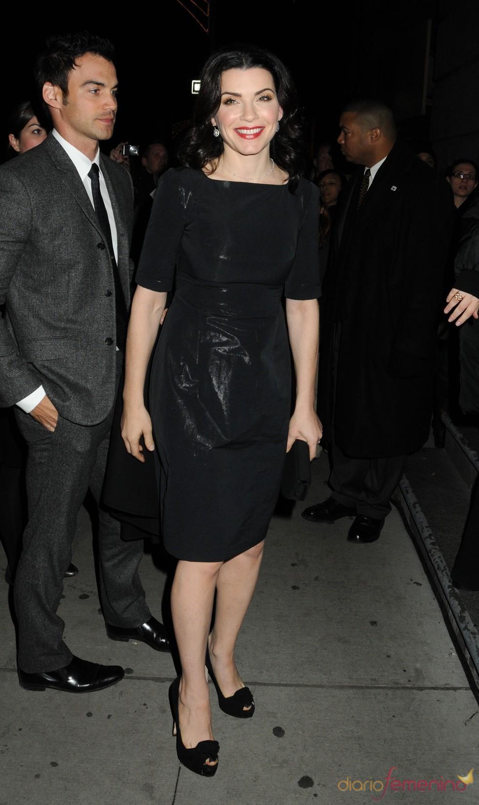 Julianna Margulies en la ceremonia de los premios Gotham, en Nueva York