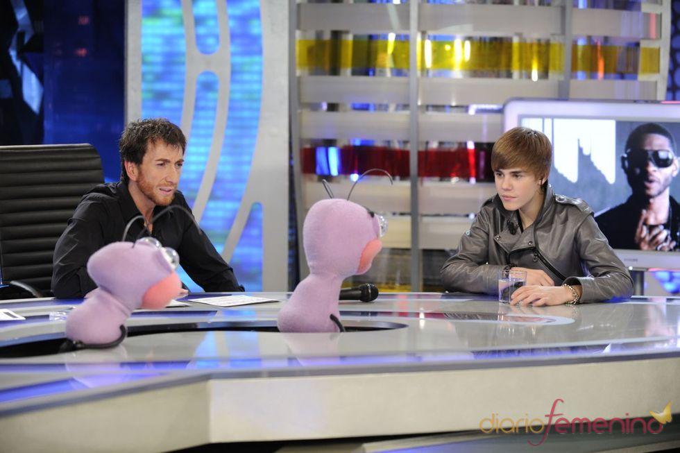 Justin Bieber conoce a Trancas y Barrancas