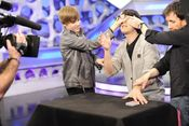 Justin Bieber y los juegos de magia de 'El Hormiguero'