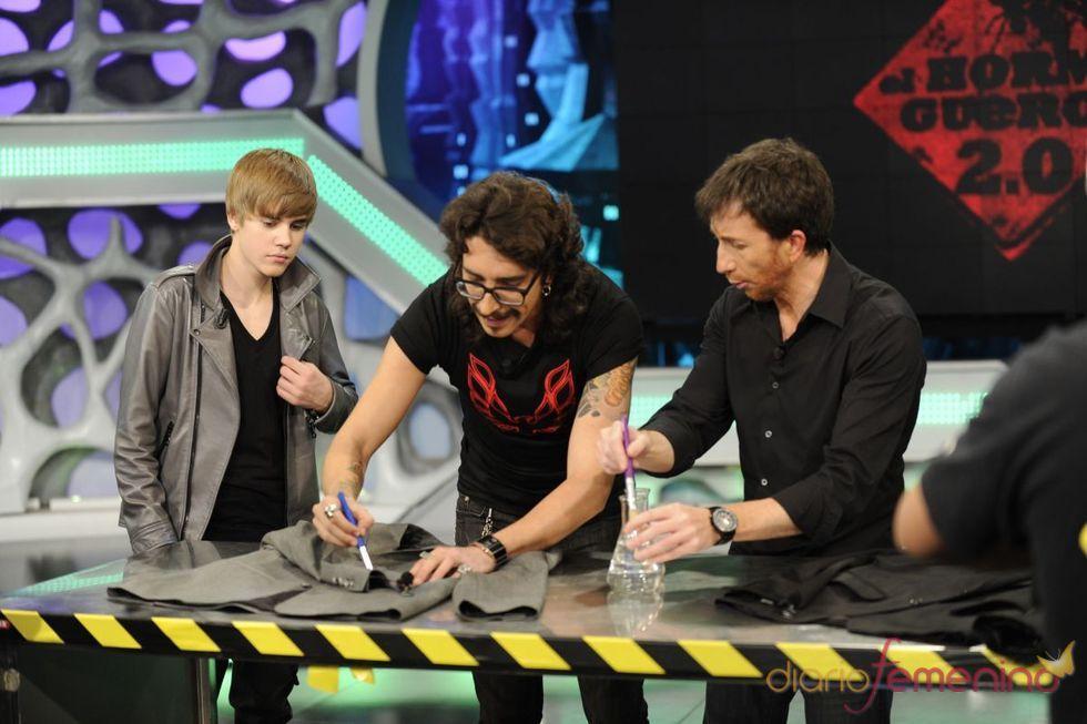 Justin Bieber y los experimentos de 'El Hormiguero'