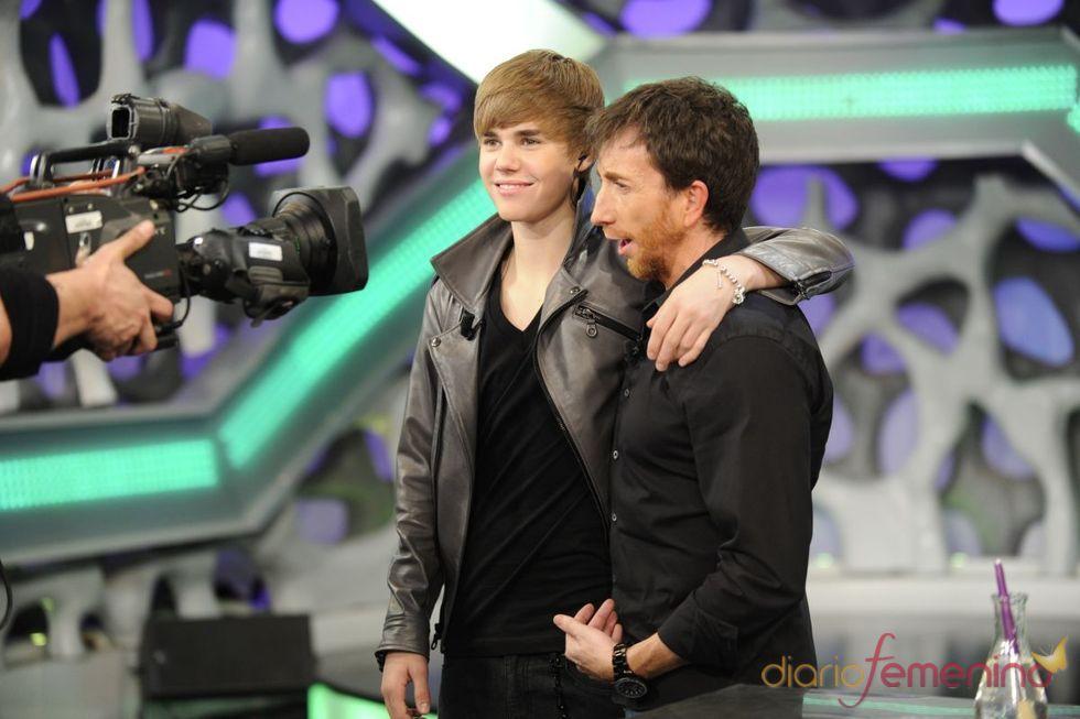 Justin Bieber se despide del 'El Hormiguero'
