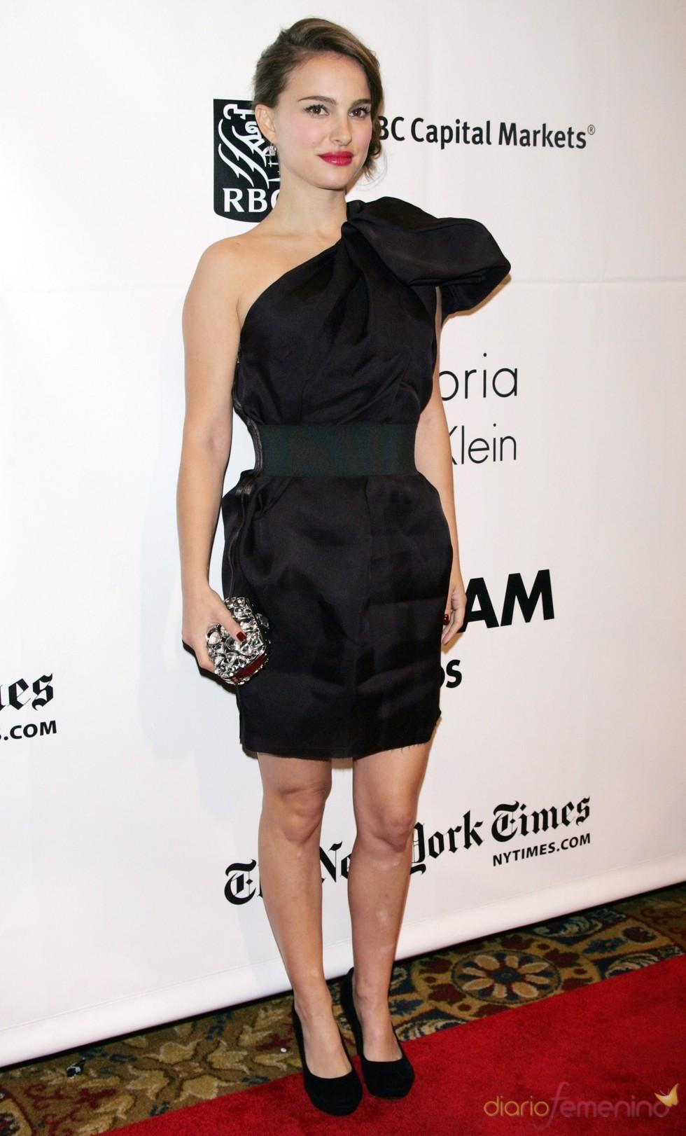 Natalie Portman en la alfombra roja de los premios Gotham