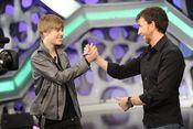 Justin Bieber disfrutó como un enano en 'El Hormiguero'