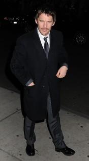 Ethan Hawke no faltó a la gala de los premios Gotham