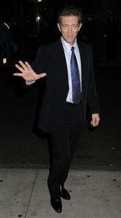 Vincent Cassel en Nueva York con motivo de los premios Gotham