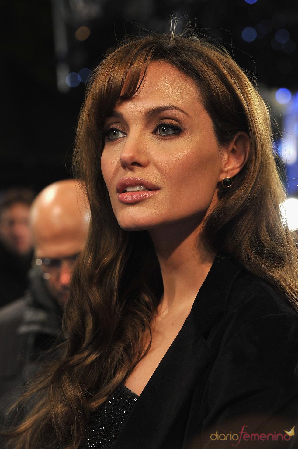 Angelina Jolie, espectacular en el estreno de 'Megamind'