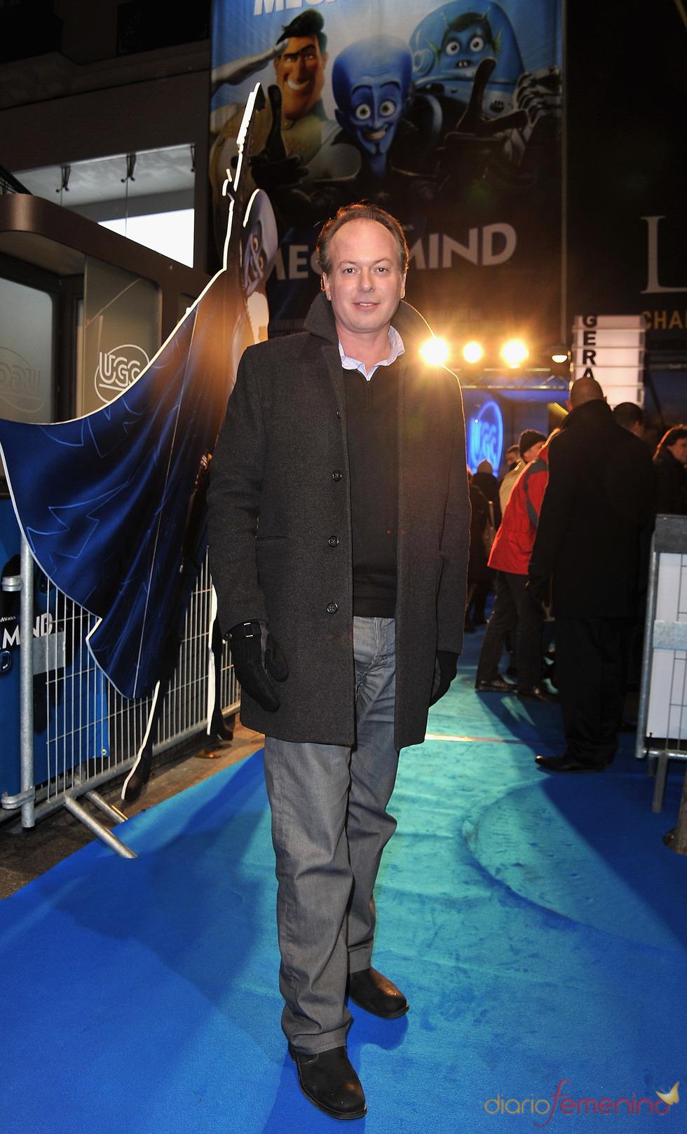 Tom McGrath en el estreno de 'Megamind'