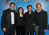 Premiere de 'Megamind' en París