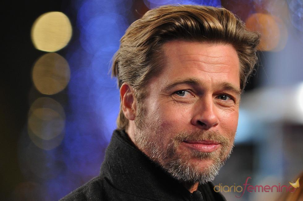 Brad Pitt, muy sexy en el estreno de 'Megamind'