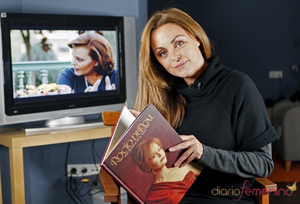 Carmen Morales rinde homenaje a Rocío Dúrcal