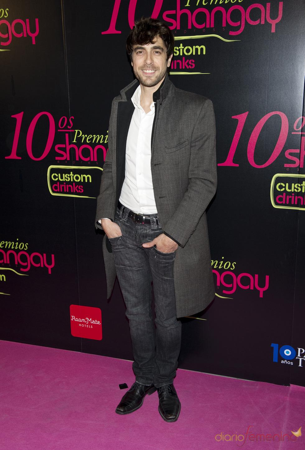Agustín Galiana en los Premios Shangay 2010