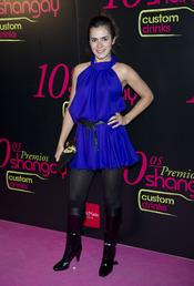 Anna Allen en los Premios Shangay 2010