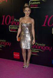 Ana Torroja en los Premios Shangay 2010