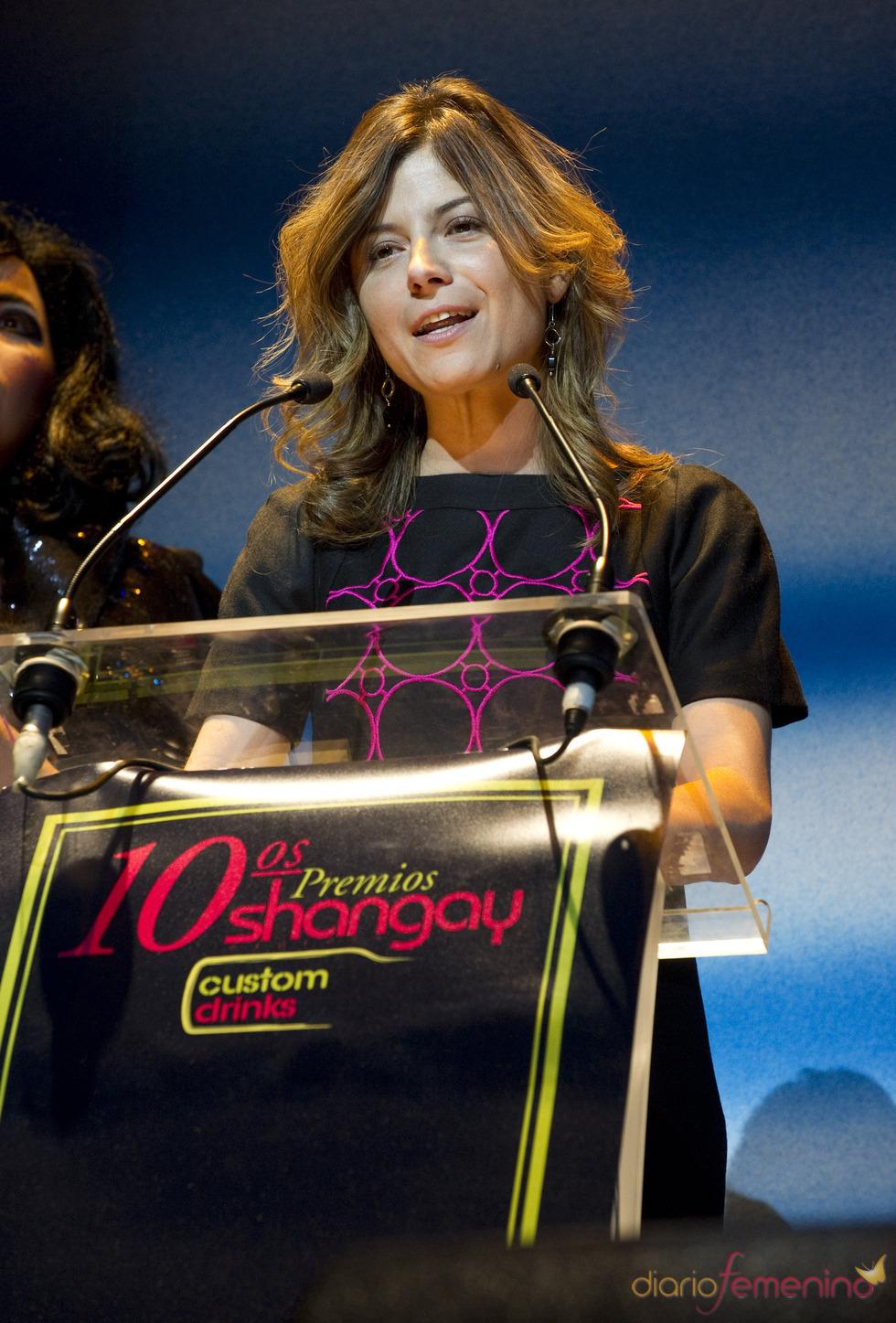 Bibiana Aido presenta los Premios Shangay 2010