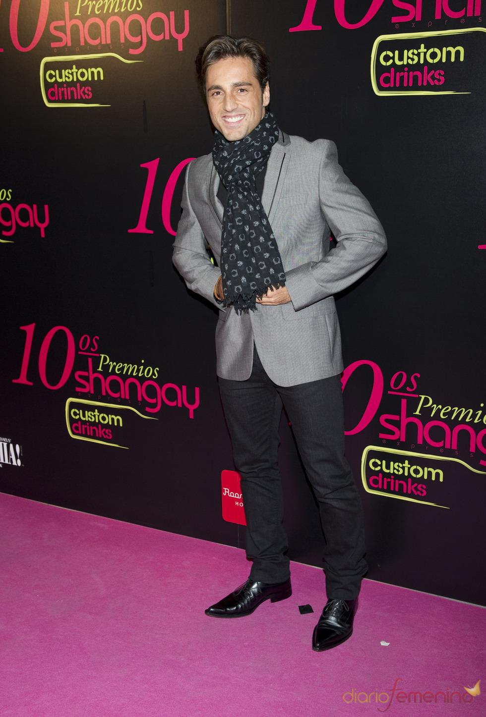 David Bustamante en los Premios Shangay 2010