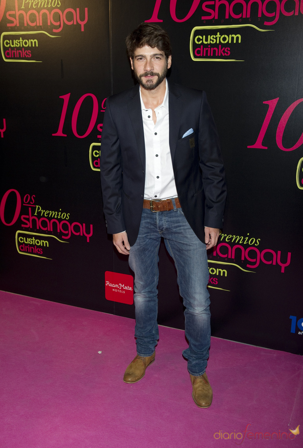 Félix Gómez en los Premios Shangay 2010