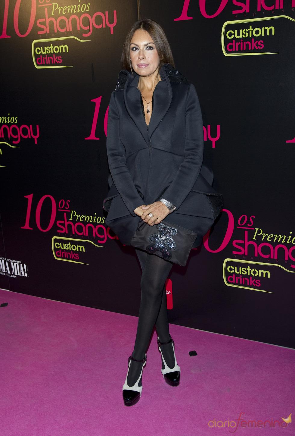 Jacqueline de la Vega en los Premios Shangay 2010