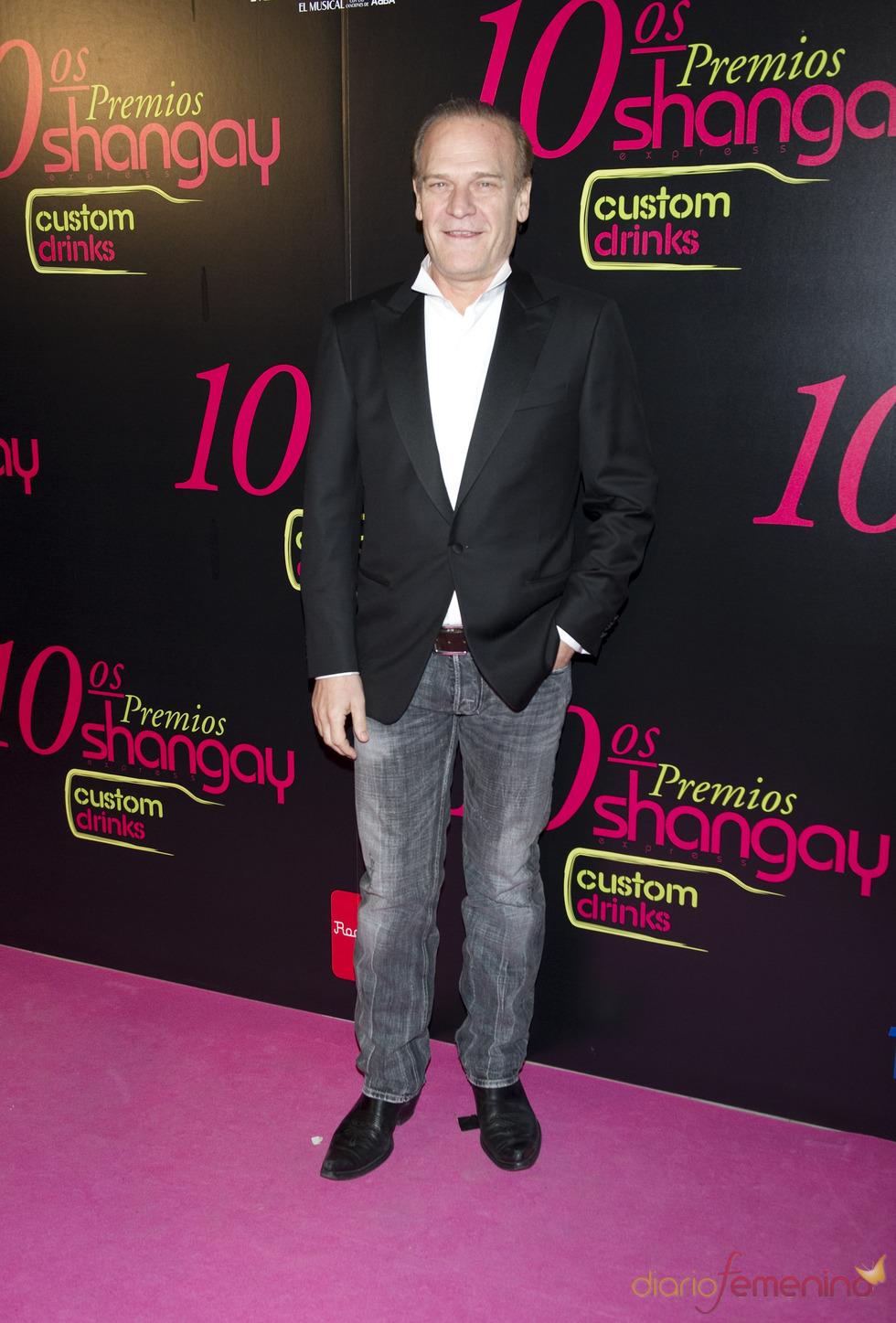 Lluís Homar en los Premios Shangay 2010