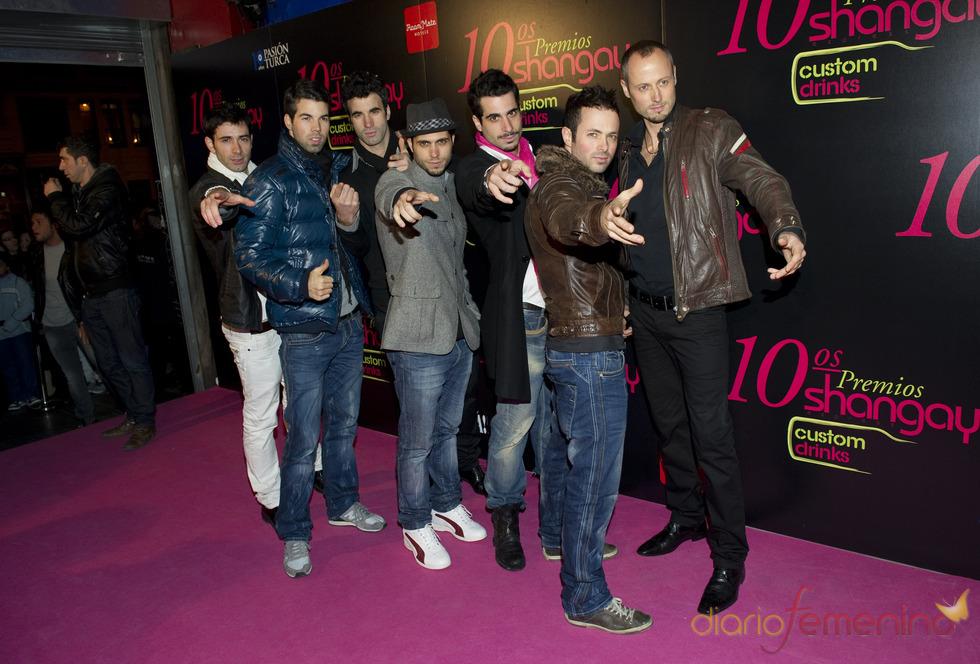 Los Vivancos en los Premios Shangay 2010