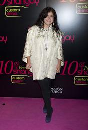 Lucía Extrebarria en los Premios Shangay 2010