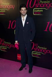 Miguel Ángel Muñoz en los Premios Shangay 2010