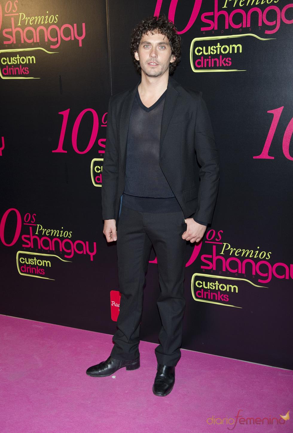 Paco León en los Premios Shangay 2010