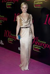 Soraya en los Premios Shangay 2010