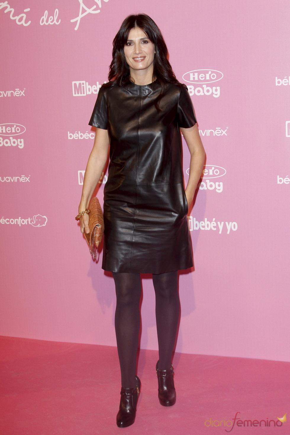Elia Galera en los premios Mamá del Año