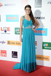 Miss España 2010, Paula Guilló, en los Premios As del Deporte 2010