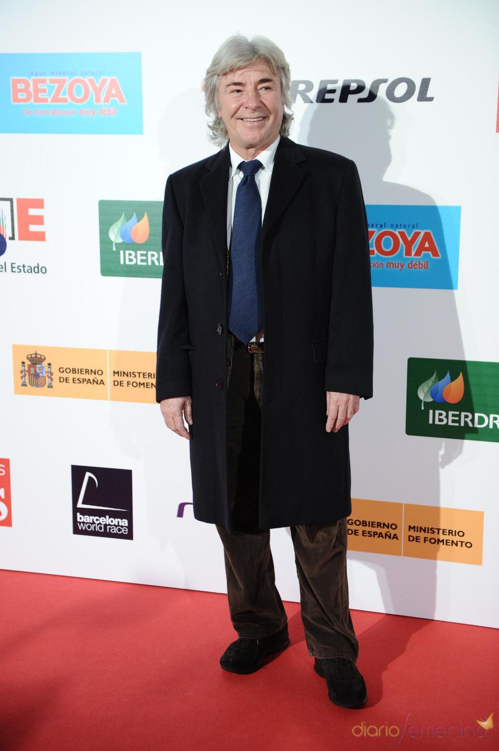 El ex-piloto Ángel Nieto en los premios As del Deporte 2010