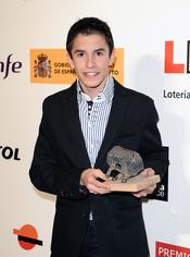 El piloto Marc Marquez en los Premios As del Deporte 2010