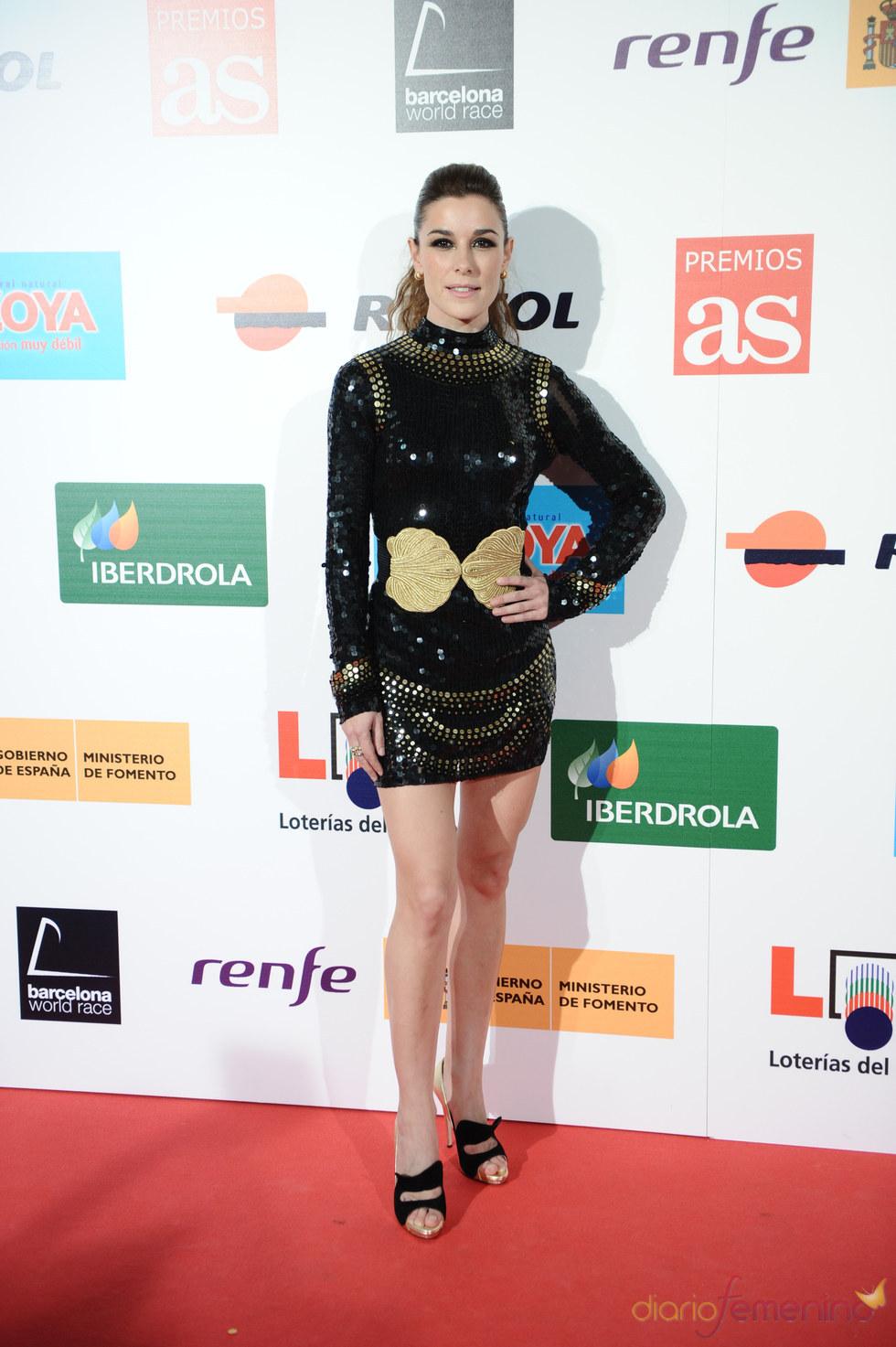 Raquel Sánchez Silva en los Premios As del Deporte 2010