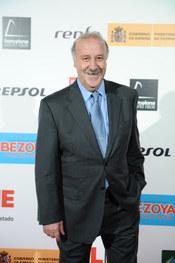 Vicente del Bosque en los Premios As del Deporte 2010