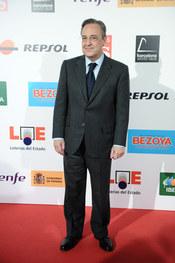 Florentino Pérez en los Premios As del Deporte 2010