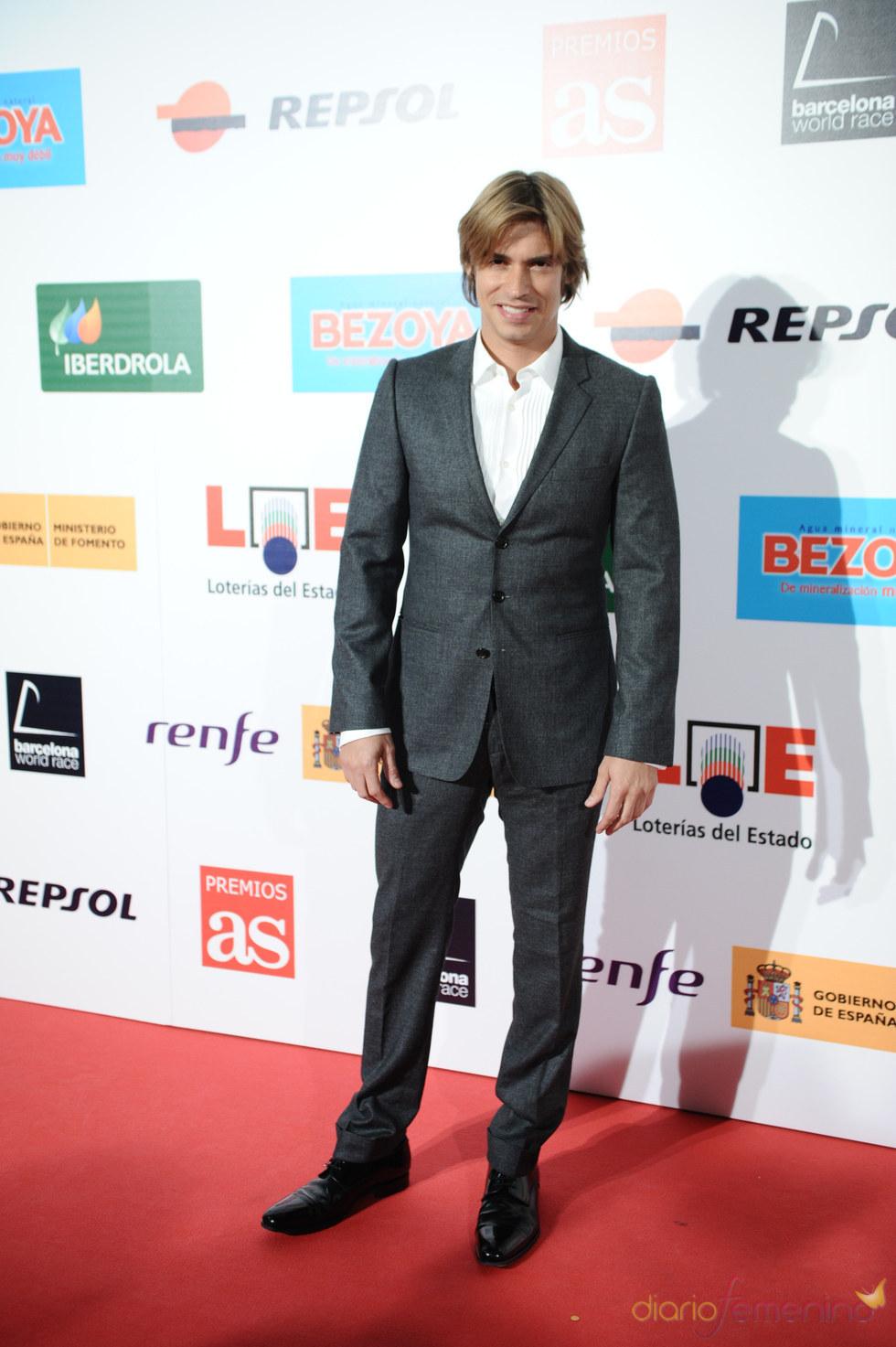 Carlos Baute en los Premios As del Deporte 2010