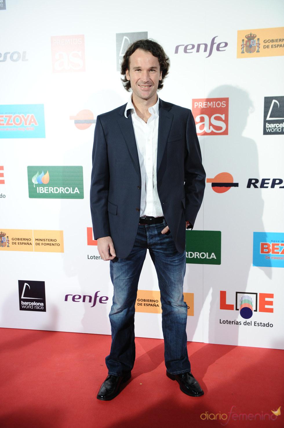 Carlos Moya en los Premios As del Deporte 2010
